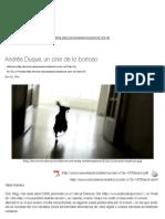Andrés Duque, un Cine de Lo Borroso