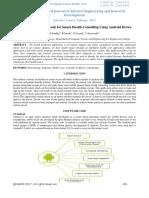 Survey- Novel Framework for Smart Health Consulting Using Android Device-IJAERDV04I0284872
