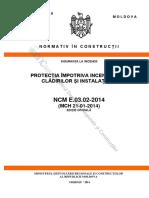 Normativ, Rezistența La Foc, Rep. Moldova