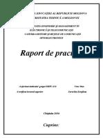 Raport  - Practica de inițiere, UTM