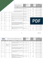 Matriz Para Identificación y Evaluación Del Cumplimiento de Requisitos Legales (Collar)
