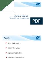 Varroc Group Presentation