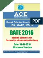 Ace Academy Gate 2016 Ece Set 3