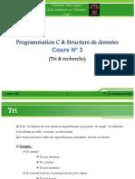 Cours 3 Tri Et Recharche SD