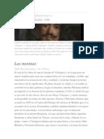 Velázquez,Las Meninas y Artículo de William Ospina