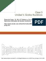 Clase 3 Ácidos Nucleicos 2016