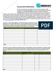 Solar Assessment Worksheet