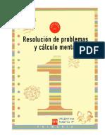 Resolución de Problemas y Calculo Mental 1
