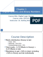 Chap 1 - Digital Systems and Binary Numbers