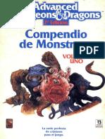 AD&D 2.0 - Compendio de Monstruos Vol 1.pdf