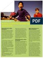 Physical Activity in Children and Adolescents