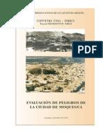 IIU-Peligro de Ciud. de Moquegua