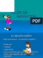 Taller de Narración.ppt Diapositivas