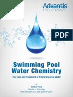 Advantis Pool Chemistry Book - EnGLISH