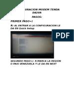 Configuracion Modem Tenda d820r - Copia