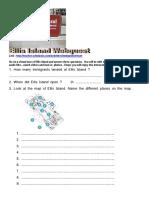 Ellis Island Webquest Student