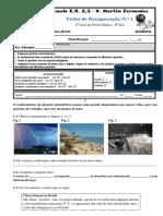 Noções de estado do tempo e de clima e de fatores e elementos climáticos