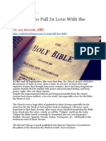 Ten Ways to Fall in Love With the Bible