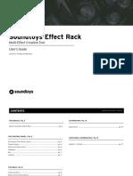 Effect Rack Manual
