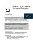 website evaluation lesson plan