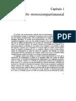 Bolus IV. Modelo Monocompartimental Abierto