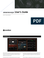 Soundtoys User's Guide