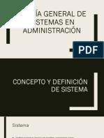 Sistemas y Organizacion