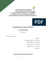 Contabilidad Del Sector Publico. (1) GABRIELA ROJAS