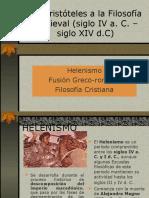 De La Filosofía Antigua a La Filosofía Medieval_PowerPoint