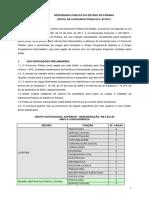 EDITAL DE CONCURSO PÚBLICO N. 07/2012