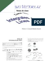 Integrales de Linea
