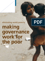 03 DFID - Making Governance Work for the Poor