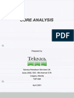 Teknica, Core Analysis, 2001