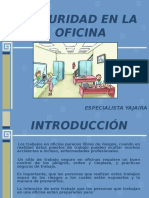 Riesgos de accidentes en la oficina.ppt
