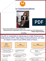 High Impact Communications Brochure