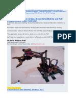 Collaboration Between Arduino Robot Arm