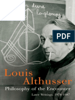 Althusser, L - Philosophy of the Encounter (Verso, 2006) trans. G.M. Goshgarian.pdf