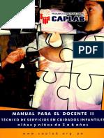 Cuidados Infantiles de 3 a 6 Años - Manual Para El Docente II