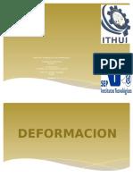 3.2 Deformaciones 3.3 Identificación y clasificación de estructuras