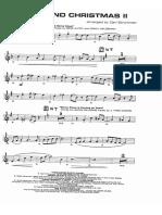 A Big Band Christmas II Tromba 1