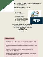 Presentación NIA 700-720