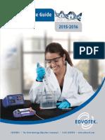 Edvotek 2015 2016 Educational Resource Guide