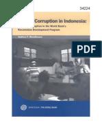 Village Corruption in Indonesia