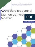 Guia Final. Maestria Derecho UNAM 2016