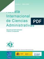 Revista Internacional de Ciencias Administrativas Volumen 74 2008