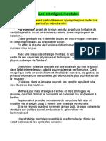 PNL - Les Stratégies Mentales