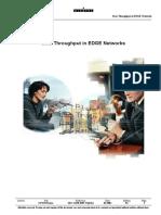 Data Throughput in EDGE Networks