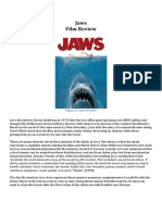 Steven Spielberg Jaws - Film Review