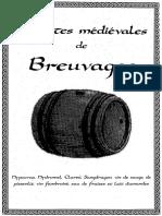 Recettes Médiévales de Breuvages