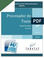 3- Procesador de Texto Word v1